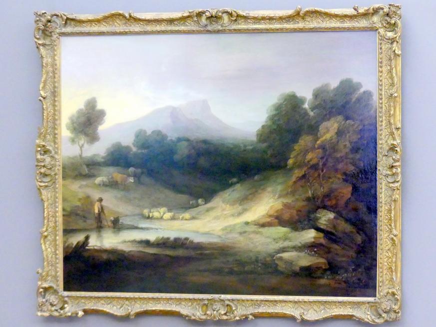 Thomas Gainsborough: Landschaft mit Hirt und Herde, 1784