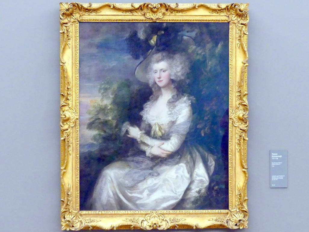 Thomas Gainsborough: Mrs Thomas Hibbert (Sophia Boldero), 1786