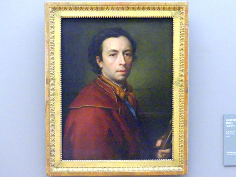 Anton Raphael Mengs: Selbstbildnis, 1773