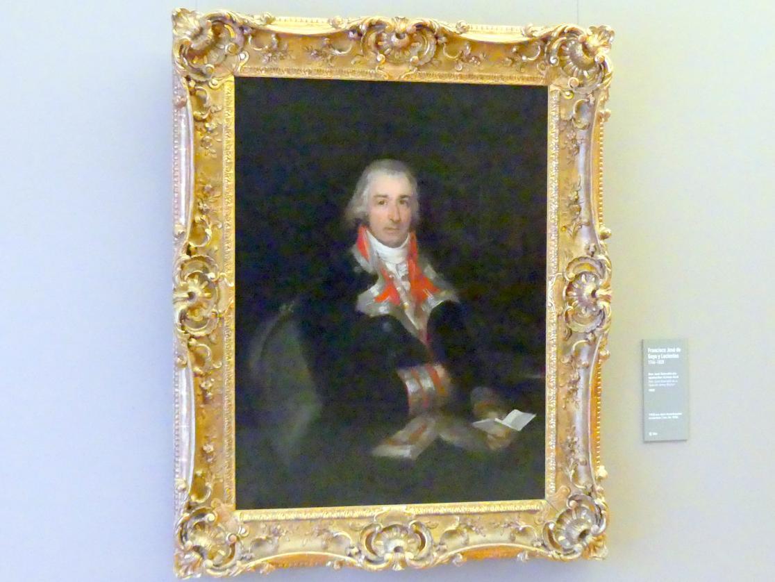 Francisco de Goya (Francisco José de Goya y Lucientes): Don José Queraltó als spanischer Armee-Arzt, 1802