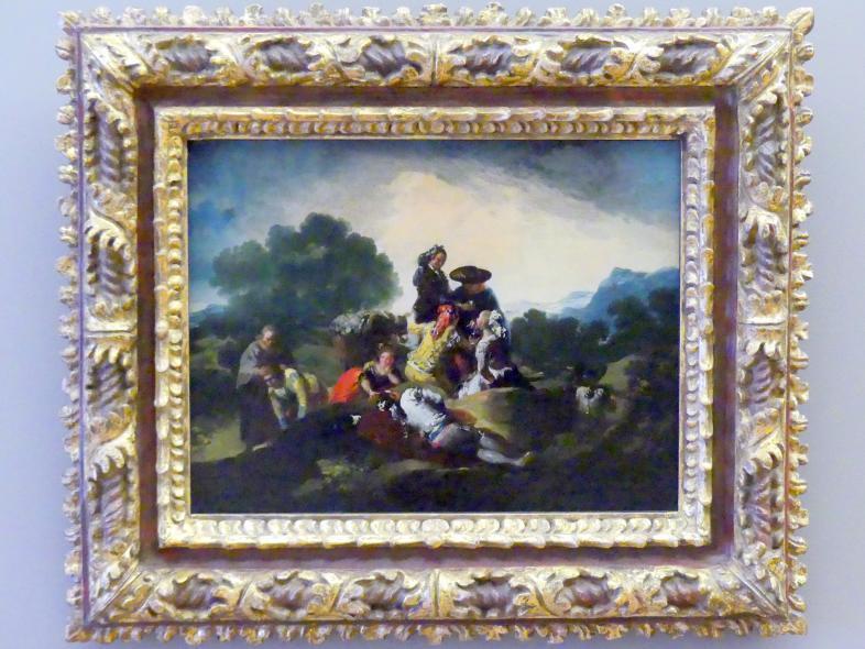 Francisco de Goya (Francisco José de Goya y Lucientes): Die Landpartie, um 1776 - 1788