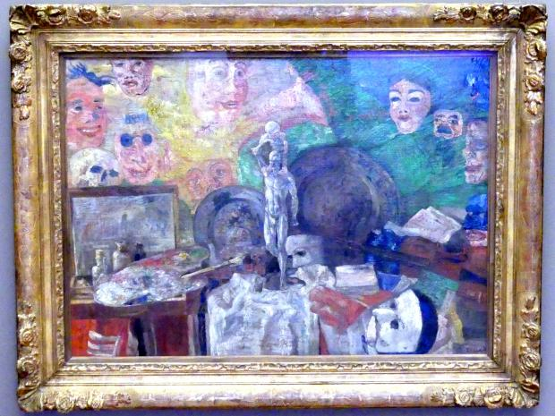 James Ensor: Stillleben im Atelier, 1889