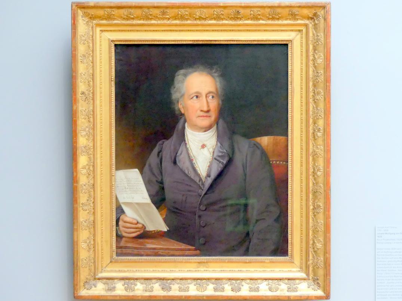 Joseph Karl Stieler: Johann Wolfgang von Goethe, 1828