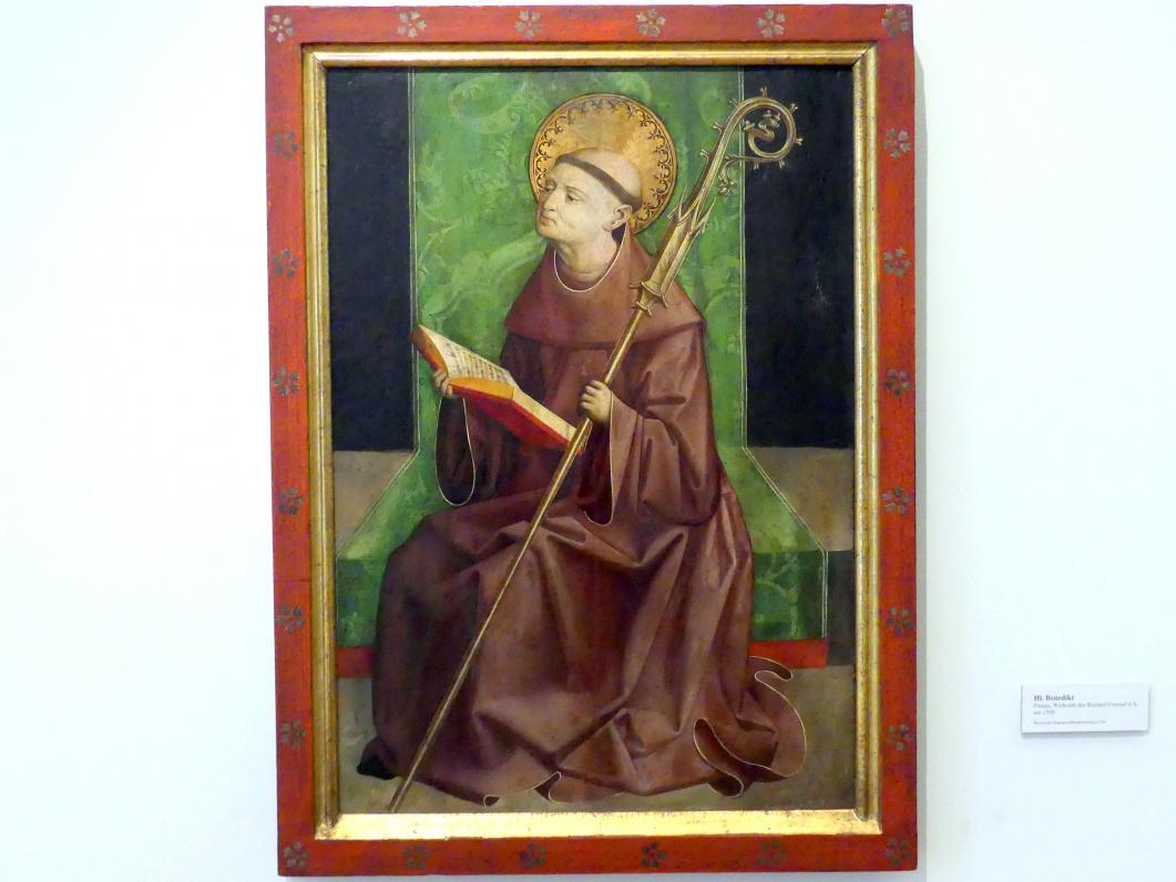 Rueland Frueauf der Ältere: Hl. Benedikt, um 1500