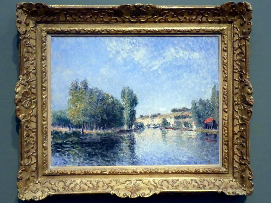 Alfred Sisley: Der Loing bei Moret, 1883