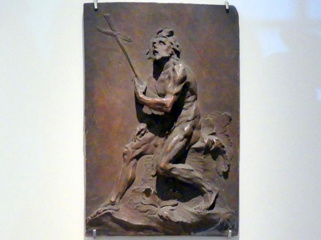 Ignaz Günther: Reliefdarstellung Johannes des Täufers nach Paul Egell, 1751